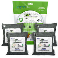4 x 500g Natural Bamboo Air Purifier Deodorizer Bags  100% Activated Charcoal