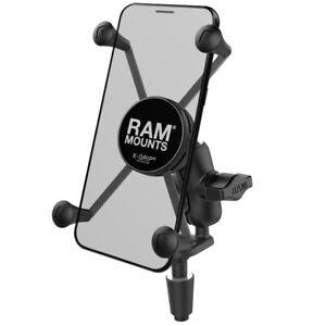 RAM X-Grip Motorcycle Fork Stem Mount for Larger Smartphones, Garmin Drive, More