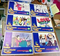 The Beatles Yellow Submarine ORIGINAL LOBBY CARDS LOT 1968,*NOT REPRODUCTIONS*