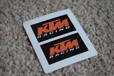 KTM Racing Sport Motorbike Motorcycle Bike Helmet Decal Sticker Black 50mm