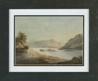 Late 19th Century Watercolour - Early Morning By The Lake