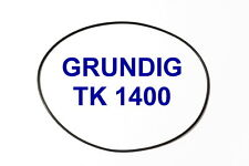 SET BELT GRUNDIG TK 1400 REEL TO REEL EXTRA STRONG NEW FACTORY FRESH TK1400