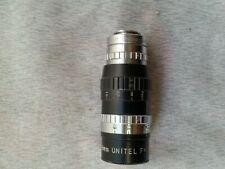 "Elgeet 8mm Wide Angle mount lens f 1.5"" 1:1.9"
