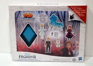 Frozen 2 Peel and Reveal Playset, Anna, Elsa, Olaf, Kristoff, the Nokk (New)
