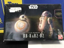 Star Wars Plastic Model Kit 1/12 BB-8 & R2-D2 Bandai Japan