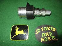 NEW OEM JOHN DEERE TRACTOR LOADER HYD QUICK CONNECT COUPLER AW31998 MODELS BELOW