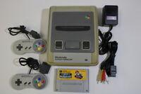 Nintendo Super Famicom Console & Mario Kart SFC SNES Japan Import K1334M