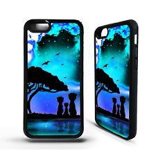 Suricatas Africano Animal puesta de sol Arte Estuche Cubierta para iPhone 5 5s se 6 6S 7 8 Plus X