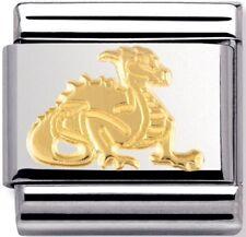 Nomination Charm Gold Dragon RRP £18