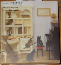 Music Room Paper Nano 3D Laser Cut Intricate detail paper model PN-109 Kawada