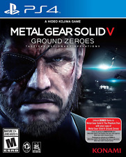 Metal Gear Solid V Ground Zeroes PlayStation 4 Standard Edition PS4 Games New