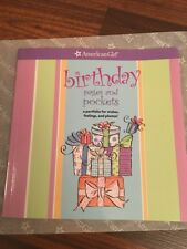 American Girl Book Birthday Pages and Pockets Diary Photo Activities Drawing