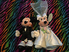 Musical Mickey & Minnie Mouse Wedding Plush Musical here comes the bride