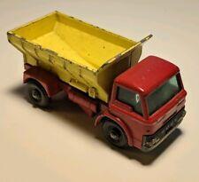Vintage Lesney Matchbox #70 Grit Spreading Truck Regular Wheels Red/Yellow Ford