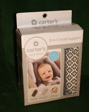 Carter's 2-in-1 Head Support Rest Nib