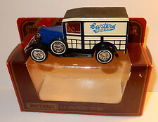 MATCHBOX MODELS YESTERYEAR LESNEY MADE IN ENGLAND  1983 FORD A 1930 CARTERS Y21