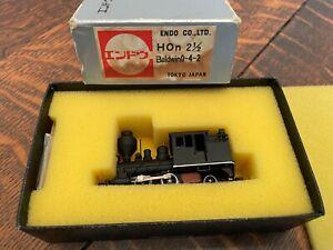 Rare Vintage ENDO Baldwin 0-4-2 HOn2-1/2 HOn3 Brass Engine Locomotive Japan