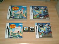 PHINEAS & FERB + ACROSS THE 2ND DIMENSION... NINTENDO DS / LITE / 2DS / 3DS GAME