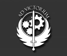 Fallout 4 Brotherhood of Steel Ad Victorium Vinyl Decal Sticker Car Truck Laptop
