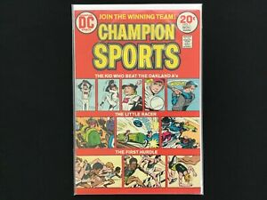 CHAMPION SPORTS #1 Lot of 1 DC Comic Book!