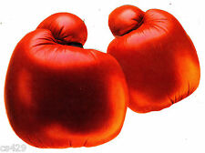 """5"""" BOXING GLOVE  SPORTS  WALL BORDER PEEL & STICK CUT OUT"""