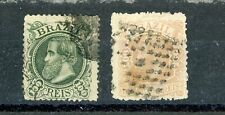 BRAZIL--2 Individual Stamps Scott #83-#84