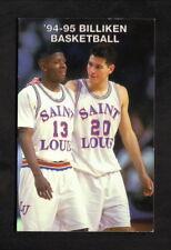 St Louis Billikens--1994-95 Basketball Pocket Schedule--National/Budweiser