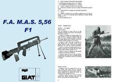 FAMAS 5,56mm c1978 Fusil d'Assaut de la Manufacture d'Armes de Saint-Etienne