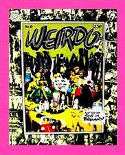 WEIRDO #6 ,1981, 1ST PRINTING, ROBERT CRUMB UNDERGROUND COMIC