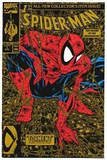 Spider-Man #1 Nm, Gold 2nd Print, Todd McFarlane art, Marvel Comics 1990
