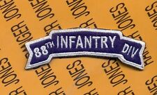 US Army 88th Infantry Division tab arc patch