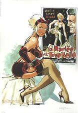 Félix Meynet Double M Mirabelle ex libris 200 ex n°/s hommage Brigitte Bardot