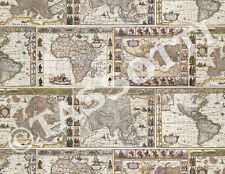 Tassotti Maps Wrapping Paper