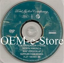 2007 Lincoln MKX / MKZ / Mark LT Pickup Navigation OEM DVD Map 4P U.S Canada