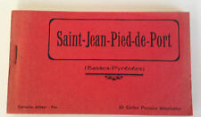 13 CARTES POSTALES DETACHABLES // SAINT JEAN PIED DE PORT