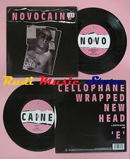 LP 45 7'' NOVOCAINE Cellophane wrapped new head E 1996 uk FIRE no cd mc dvd