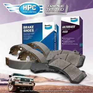 Bendix Ultimate Brake Pads Shoes Set for Hyundai Excel X-3 1.5 i 16V 12V FWD