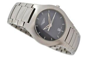 Longines Opposition Model L3.617.4 Quartz Steel Midsize Watch 1944