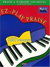EZ-Play Praise: Praise and Worship Favorites for Big-Note Piano (Play-ExLibrary