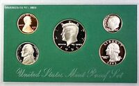 1995 US Mint Proof Set 5 Gem Coins w/ Box & COA