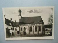 Ansichtskarte Schloß Blutenburg Die Schloß-Kapelle 20/30er?