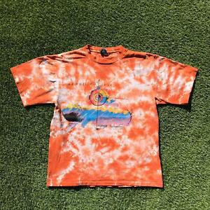 Rare Vintage 1992 OCEAN PACIFIC OP Tie Dye T Shirt Medium Surf Single Stitch