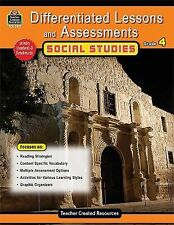 Differentiated Lessons and Assessments - Social Studies, Grade 4 Usa reading