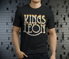 New Popular Kings of Leon Indie Rock Band Men's Black T-Shirt Size S-3Xl