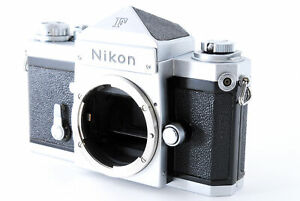 [Exc+3] Nikon F Eye Level Silver 35mm SLR Film Camera Body From JAPAN