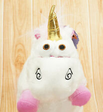 "24"" inch Despicable Me Fluffy Plush Soft Unicorn Stuffed Animal Pony Toy Doll"