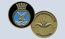 submarine hms tireless s88 commemorative royal navy challenge coin