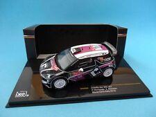 CITROEN DS3 WRC #11 - MERKSTEIJN - RALLY MONTE CARLO 2012 - 1/43 NEW IXO RAM485