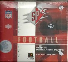 2006 SPx Factory Sealed Football Hobby Box   Jay Cutler RC ???
