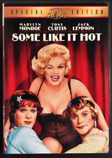 Some Like It Hot - 1959 (Dvd, 2001) Tony Curtis Jack Lemmon Marilyn Monroe Ex!